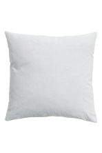Velvet cushion cover - Light grey - Home All | H&M CN 3