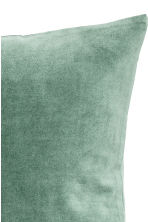 Velvet cushion cover - Moss green - Home All | H&M CN 2