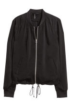 Bomber - Nero/argentato -  | H&M IT 2