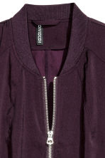 Bomber jacket - Dark purple -  | H&M CN 3