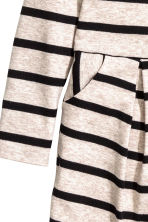 Jersey dress - Beige marl/Striped - Kids | H&M CN 4