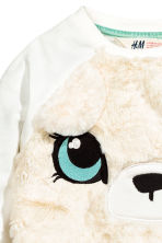 Sweatshirt - White/Bear - Kids | H&M CN 2