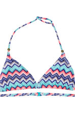 Triangle bikini - Turquoise/Dark blue - Kids | H&M CN 3