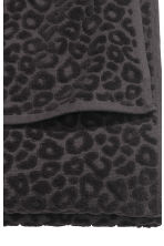 Leopard-patterned bath towel - Black - Home All | H&M CN 3