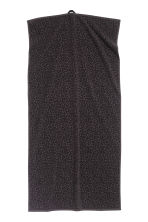 Leopard-patterned bath towel - Black - Home All | H&M CN 2