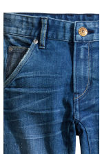 Tapered Worn Jeans - Bleu denim - ENFANT | H&M FR 4
