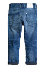 Tapered Worn Jeans - Bleu denim - ENFANT | H&M CH 3
