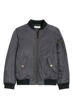 Bomber jacket - Dark grey - Kids | H&M CN 2