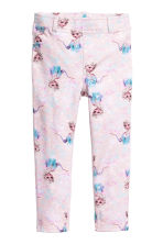 Printed treggings - Light pink/Frozen - Kids | H&M CN 2