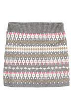 Glittery skirt - Grey/White - Kids | H&M CN 2