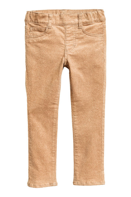 Corduroy treggings