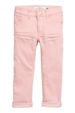 Stretch trousers - Light pink - Kids | H&M CN 2