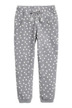 Printed sweatpants - Grey/Spotted -  | H&M CN 2