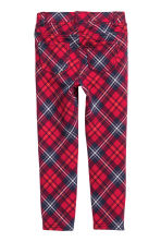 Treggings - Red/Checked - Kids | H&M CN 3