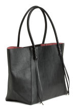 Shopper with fringes - Black - Ladies | H&M CN 3