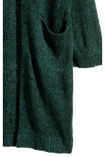 Knitted cardigan - Dark green marl -  | H&M CN 2