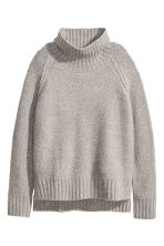 Pullover a collo alto - Grigio mélange - DONNA | H&M IT 2