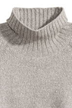Pullover a collo alto - Grigio mélange - DONNA | H&M IT 3