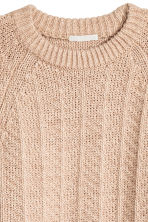 Pullover in maglia - Beige mélange - DONNA | H&M IT 3