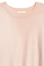 Fine-knit jumper - Powder -  | H&M CN 3