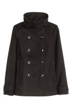 Double-breasted jacket - Black - Ladies | H&M GB 2