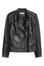 Biker jacket - Black -  | H&M 2