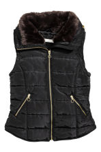 Padded gilet - Black - Ladies | H&M CN 2