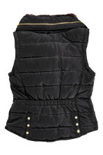 Padded gilet - Black - Ladies | H&M CN 3