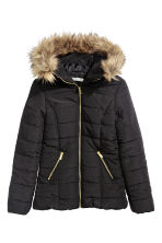 Padded jacket - Black - Ladies | H&M CN 2