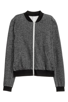 Sweatshirt jacket
