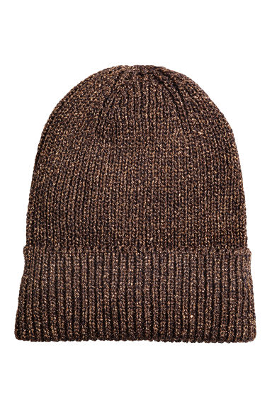 Glittery hat - Dark blue/Gold - Ladies | H&M CN 1
