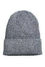 Glittery hat - Dark blue/Silver - Ladies | H&M CN 1