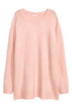 Powder pink marl
