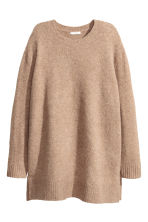 Knitted jumper - Beige marl - Ladies | H&M GB 2