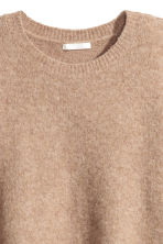 Knitted jumper - Beige marl - Ladies | H&M GB 3