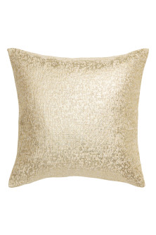 Glittery cushion cover