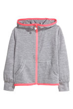 Sports jacket - Grey marl - Kids | H&M CN 2