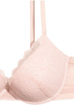 Lace push-up bra - Light pink - Ladies | H&M CN 3