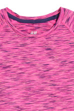 Sports top - Cerise marl - Kids | H&M CN 2