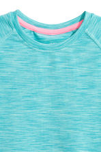 Sports top - Turquoise marl - Kids | H&M CN 3