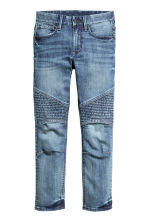 Skinny Fit Biker Jeans - Denim blue - Kids | H&M CN 2