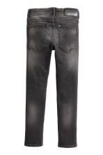 Skinny Fit Jeans - Dark grey washed out - Kids | H&M CN 3