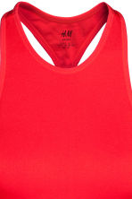 Top da yoga corto - Rosso - DONNA | H&M IT 3