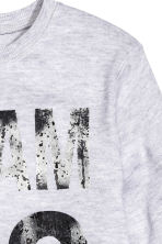 Printed sweatshirt - Light grey - Kids | H&M CN 3