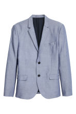 Blazer in cotone oxford - Blu - UOMO | H&M IT 2