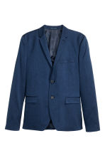 Jacket Skinny fit - Navy blue - Men | H&M CN 2