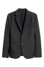 Textured jacket Slim fit - Black - Men | H&M CN 2