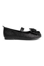 Ballet pumps - Black/Glitter - Kids | H&M CN 3