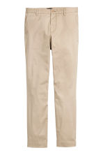 Chinos Slim fit - Beige - Men | H&M CN 2