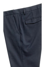 Pantaloni completo cropped - Blu scuro - UOMO | H&M IT 3
